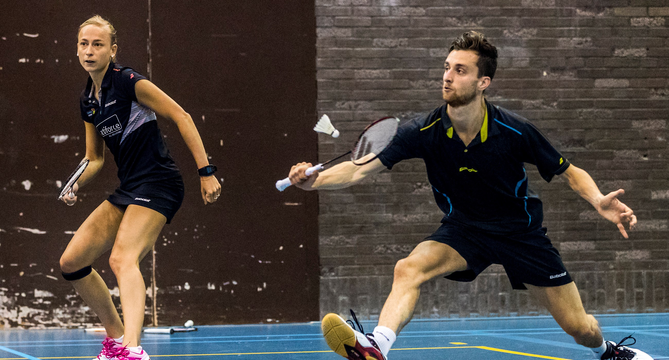 Belgian International, badminton