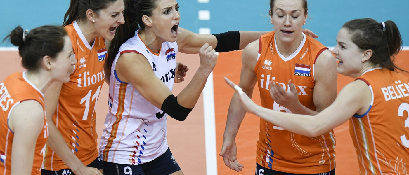 Oranje naar Final Six van Volleyball Nations League