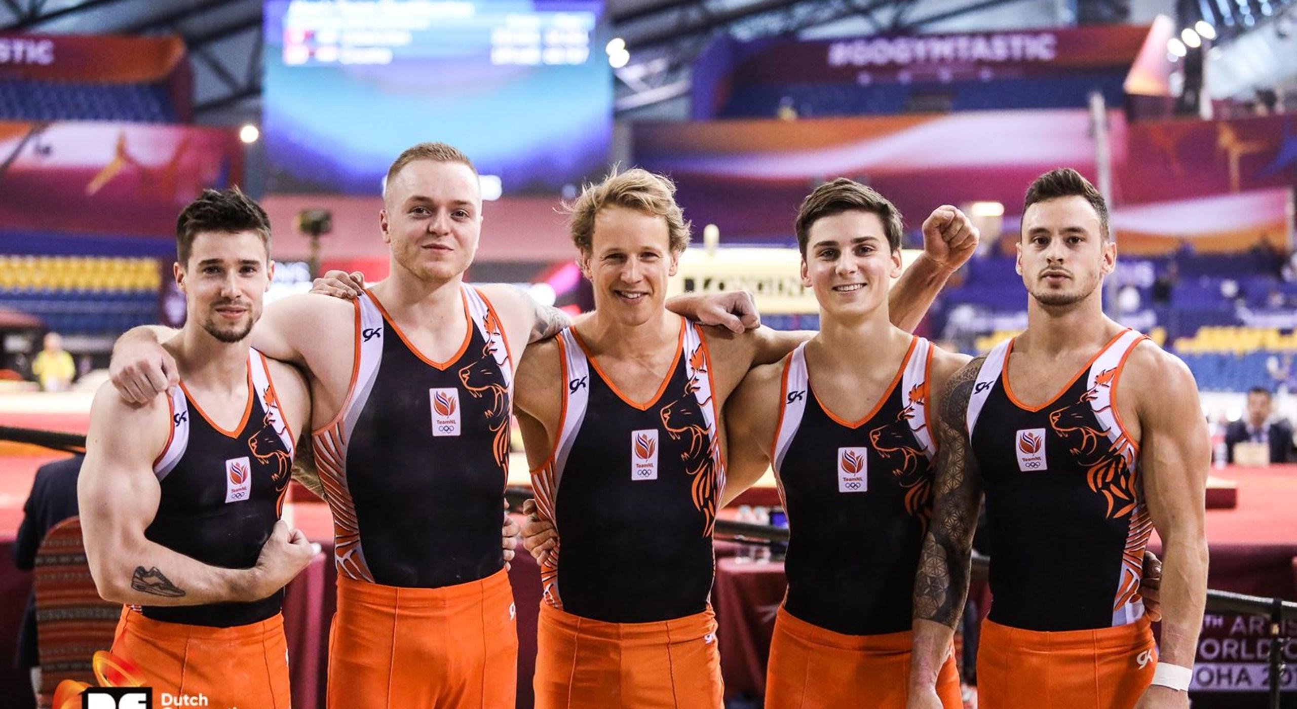 Afbeeldingsresultaat voor nederlands turnteam heren