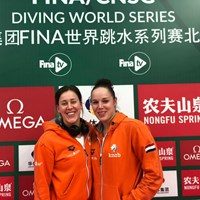 Jansen en Van Duijn vijfde in Diving World Series