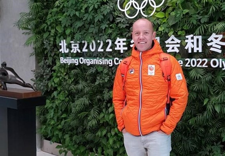 Carl Verheijen chef de mission bij Winterspelen in Beijing