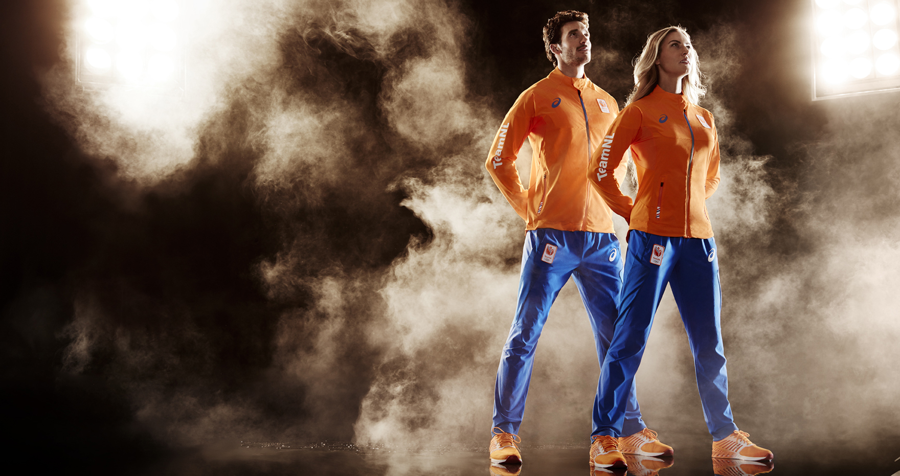 Olympische vracht vertrokken naar Rio - Echt oranje