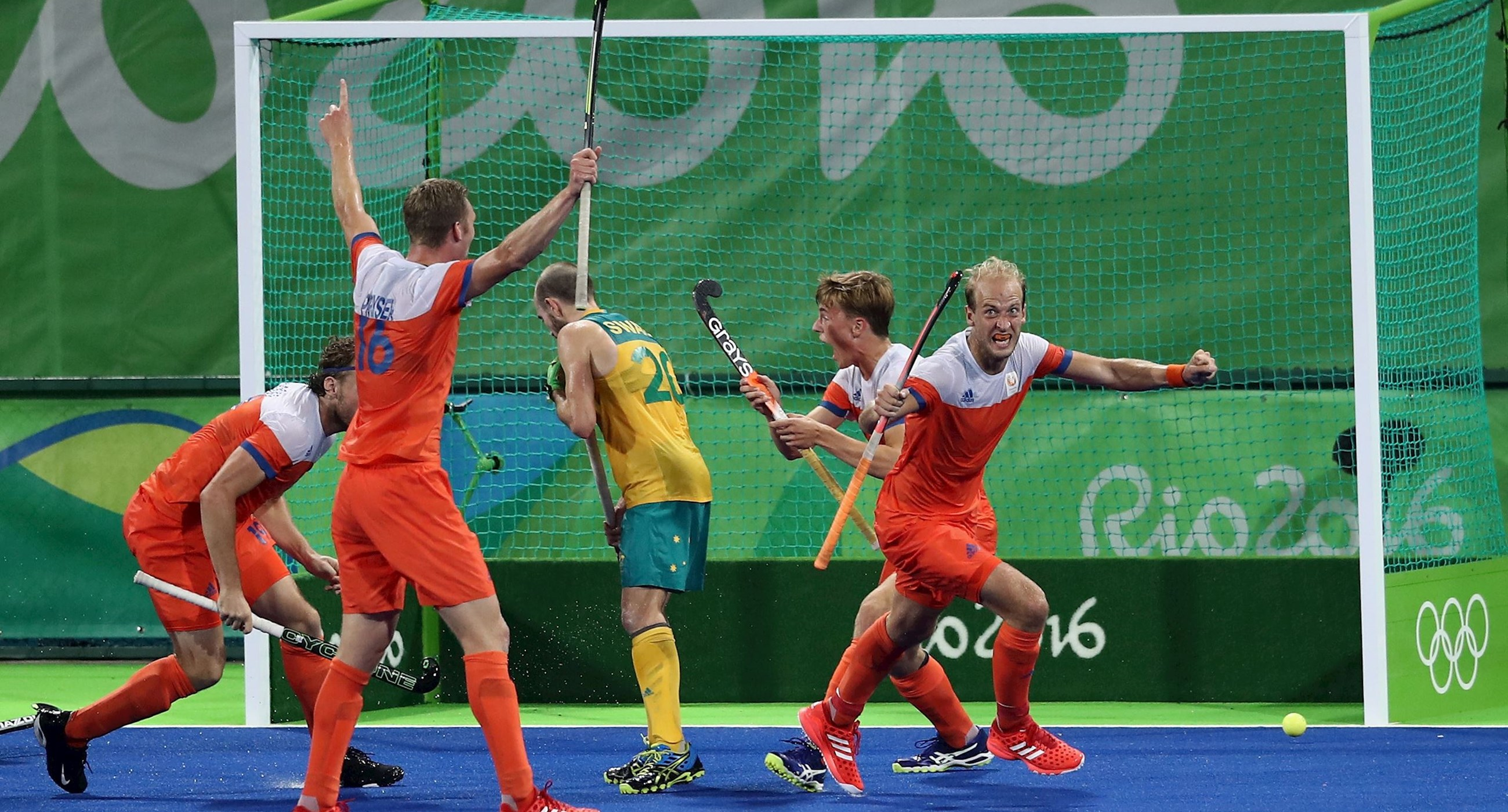 WK hockey (m): Nederland-Pakistan